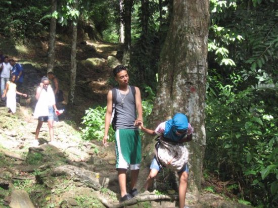 Maracas Falls : and at the end, we conquered