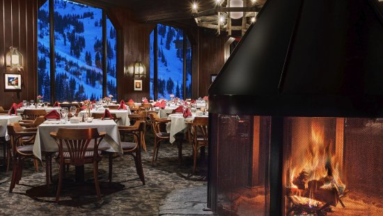 Alta, UT: Dining Room- Fire