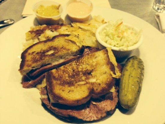 Roslyn, NY: Reuben Sandwich