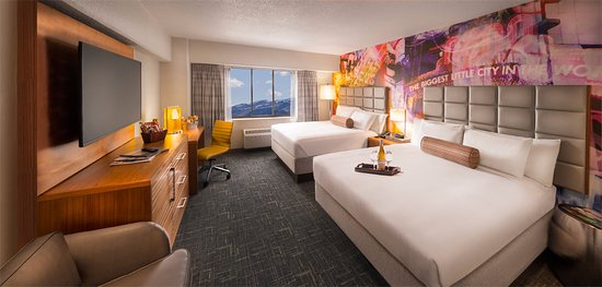 Circus Circus Reno: Newly renovated rooms at the Circus Circus!
