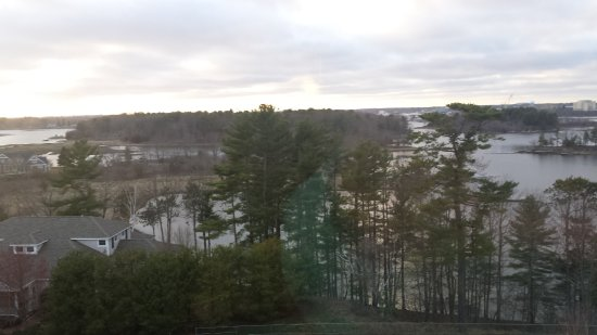New Castle, Nueva Hampshire: View from our room