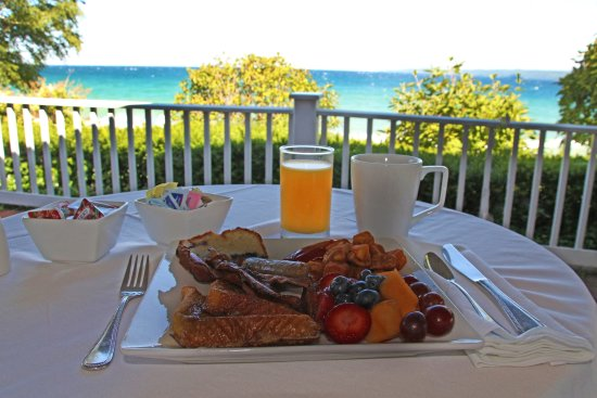 Bay Harbor, MI: The Sagamore Room's view is second to none.