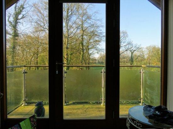 Llanddeusant, UK: Morning view from master bedroom