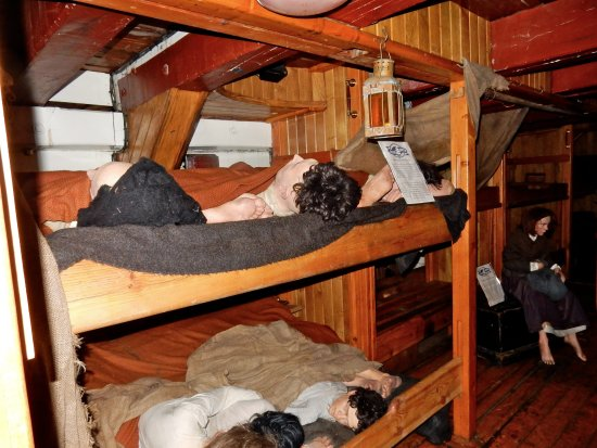 Jeanie Johnston Tall Ship and Famine Museum: Poor sods!