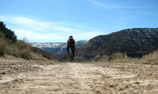 Fruita, CO: Don't want to ride singletrack or road? We have lots of gravel grinding available!