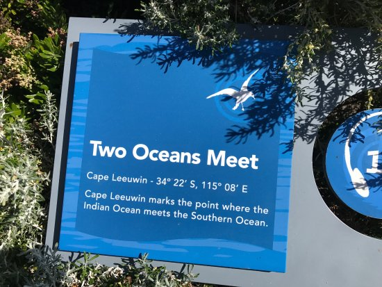 Augusta, Australien: When the 2 oceans met