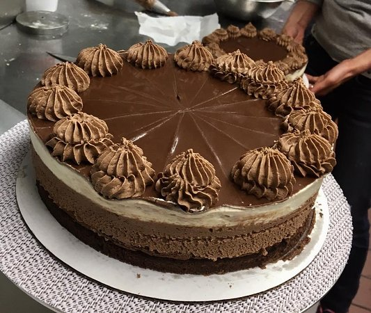 Farmington, CT: Homemade Belgium Chocolate Mousse Cake