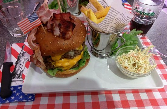 Payerne, Suiza: Burger (00 g.)