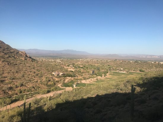 Fountain Hills, AZ: View from room 211 (second floor)
