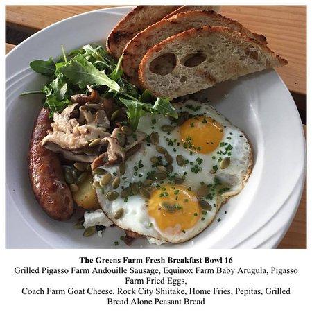 Copake, NY: Farm Fresh Breakfast Bowl