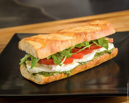 Byte Cafe: Caprese Sandwich