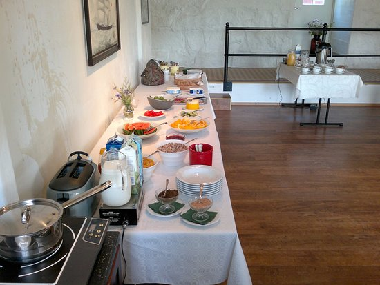 Nagu, Finland: Breakfast buffet from 8 to 10 AM