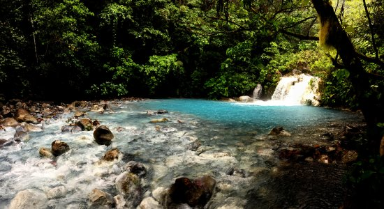 Rincon de La Vieja, Kosta Rika: One of several waterfalls