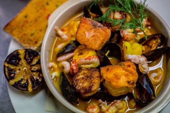 Sollentuna, Svezia: Zuppa di mare