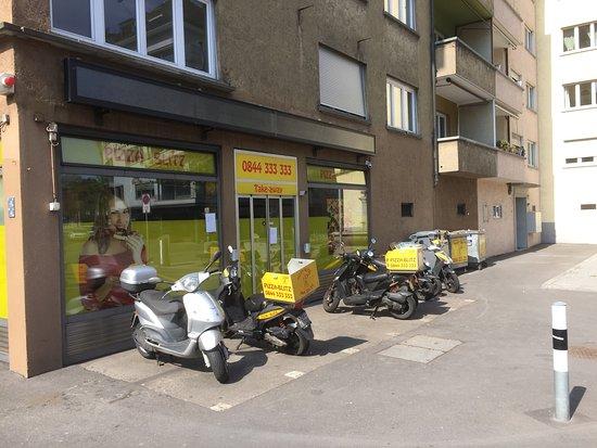 Pizza-Blitz Zurich Sud : Pizza-Blitz Zürich
