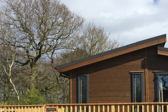 Coldingham, UK: The shore lodge, with hot tub