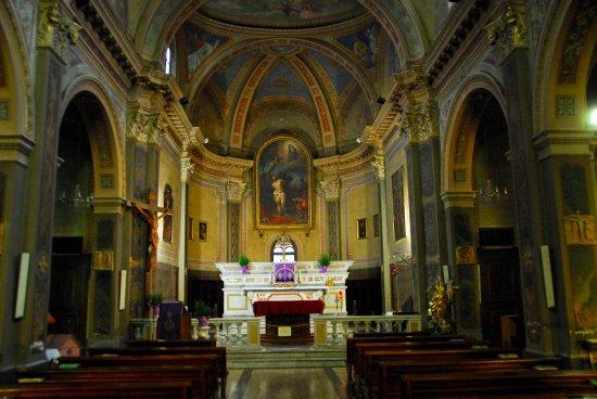 Chiesa di San Sebastiano: Interno