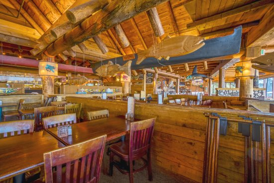 Dine in a replica of native american longhouse picture