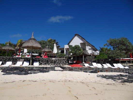 vue du restaurant de plage obr zek za zen la maison d et restaurant poste lafayette. Black Bedroom Furniture Sets. Home Design Ideas