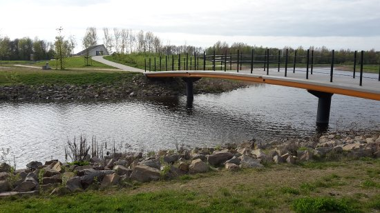Emmeloord, The Netherlands: bridge over water