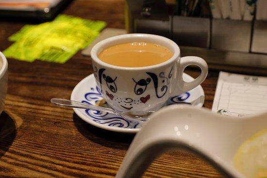 Tsui Wah Restaurant : HK milk tea.