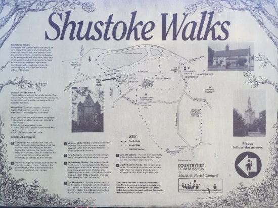 The Plough: enjoy one of shustokes many walks around the beautiful countryside