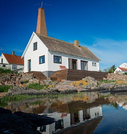 Sandvig Is Kalas : Café, homemade icecream and lovely spot