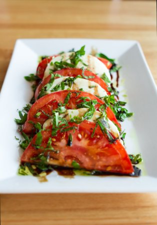 College Station, TX: Tomato Caprese - Simple, fresh and refreshing.