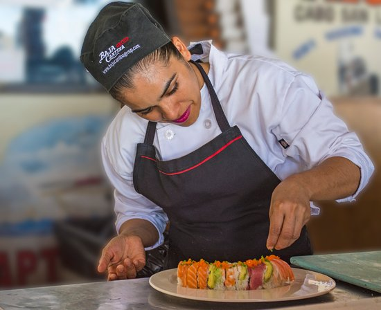 Our Sushi Chef, Tania Pacheco