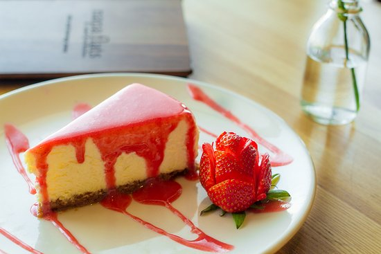 College Station, Teksas: Leigha's Cheesecake - Made fresh!
