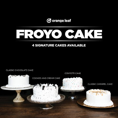 Bedford, Индиана: Our 4 signature froyo cakes available every day. You can call us to order a custom cake as well!