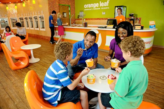 Bedford, Индиана: Quality time is always better with froyo!