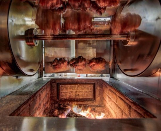 Pier 500 : Fresh from our Rotisserie...