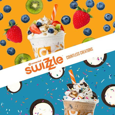 "Bedford, IN: Mix it up! Let us ""swizzle""your froyo and toppings for you! Just the way you like!"