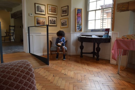 The Museum of Somerset: Roman has a little read of Three Musketeers