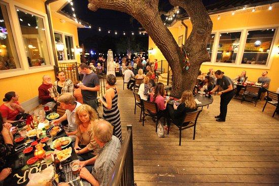 Los Antojitos Mexican Restaurant Dining Under The Oak Tree