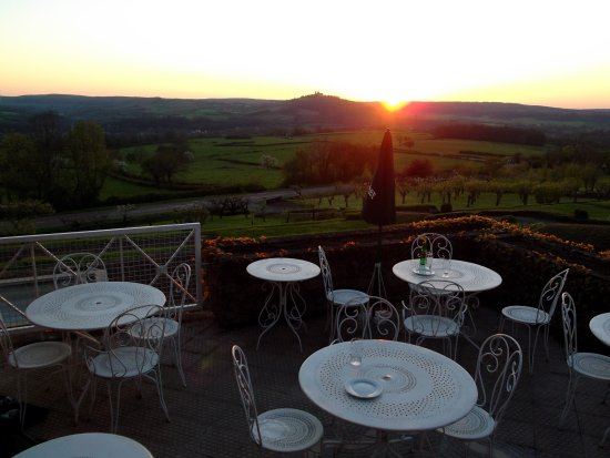 Hotel Crispol : vue de la terrasse du restaurant