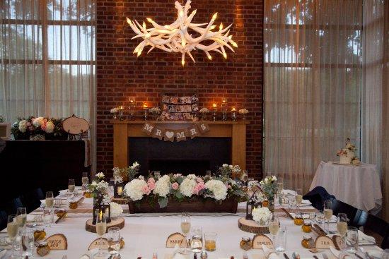 Ninety Acres At Natirar Wedding Reception Room