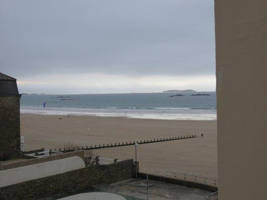Hotel Alpha Ocean : vue sur la marée basse
