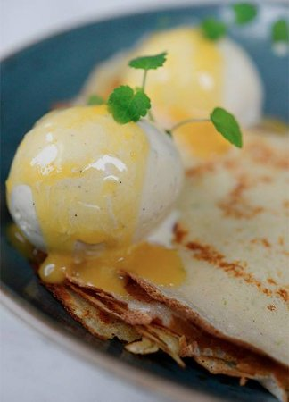 Gorinchem, The Netherlands: Crepes Suzette
