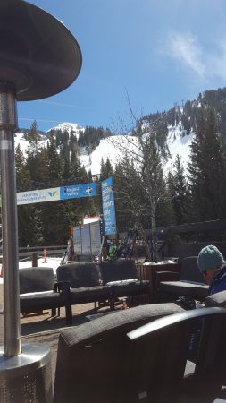 Snowbird, UT: View from our table