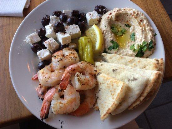 Fayetteville, AR: Grilled Shrimp Meal