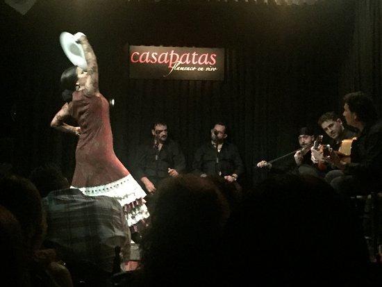 Casa Patas, Flamenco en Vivo: A rhythmic feast at Casa Patas