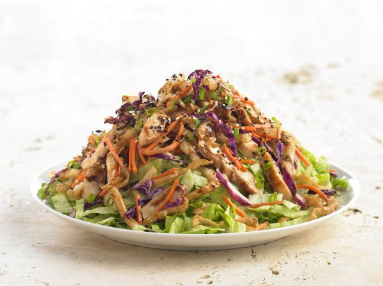 Rialto, CA: Coco's Spicy Asian Chicken Salad