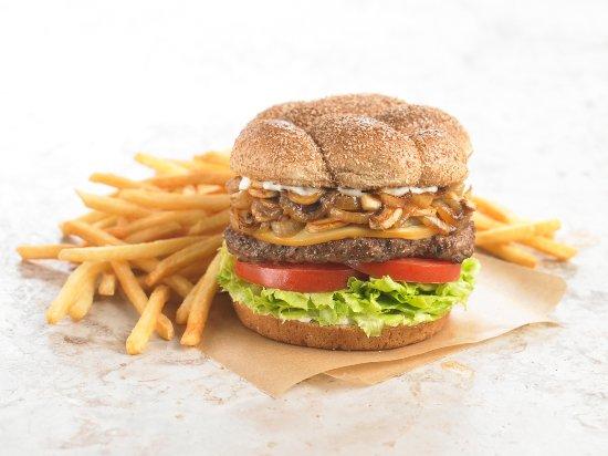 Rialto, Californie : Burgers