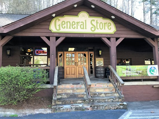 Fontana Dam, Carolina del Norte: The General Store close-up