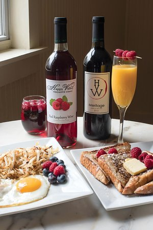 Wine and Cafe on the Park: Saturday and Sunday Breakfast