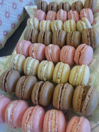 Liss, UK: Fresh macarons