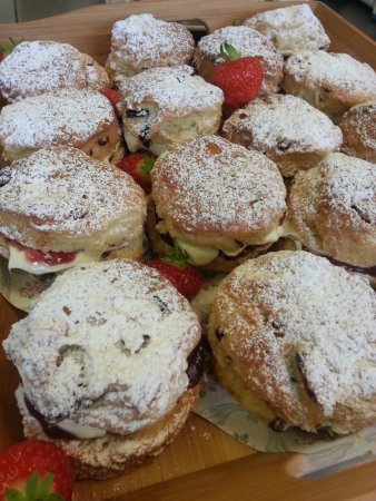 Liss, UK: Fresh scones