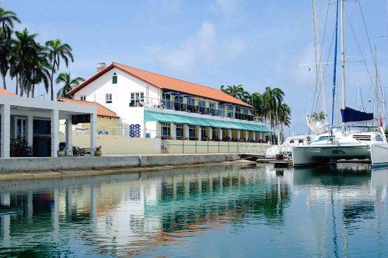 Fort Sherman, بنما: Restaurant terrace